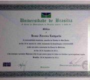 Diploma Medicina - Dr. Bruno Luitgards